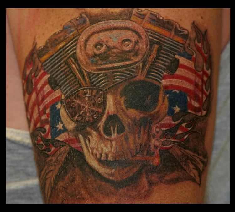 Lynyrd skynyrd free bird tattoo for Free bird tattoo flanders nj